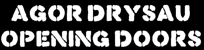 Agor Drysau Logo